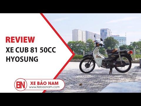 Xe Cub 81 Hyosung 2020 GIÁ 14.500.000đ | Xe Bảo Nam