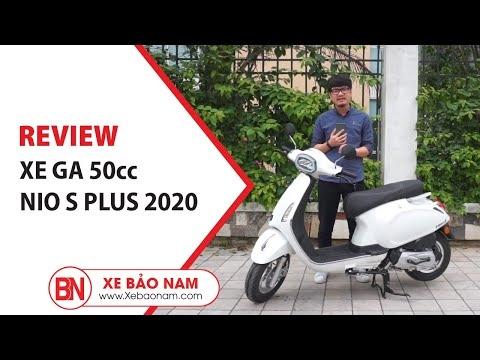 Xe Ga 50cc Nio s Plus 2020 đèn vuông 20.500.000 ► Xe tay ga mới nhất 2020 giá tốt nhất thị trường