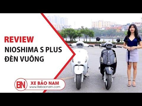 Xe ga 50cc Nioshima S Plus Đèn Vuông 2020 giá tốt nhất thị trường 20.500.000đ