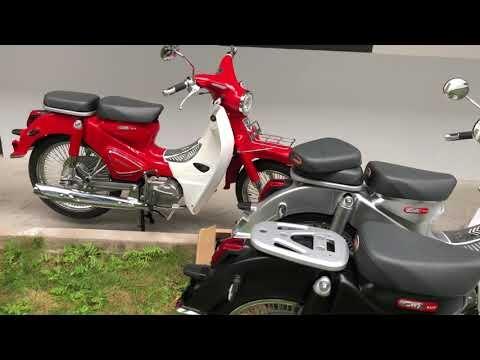 Soi chi tiết Xe Máy Cub Classic 110cc Thailan ► Giá bán hơn 30 triệu tại Việt Nam