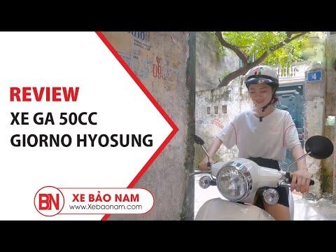 Xe Tay Ga 50cc Giorno Hyosung ( Không Cần Bằng Lái ) ► Xe Bảo Nam