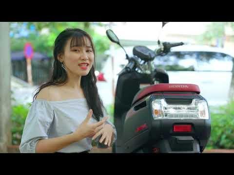 Xe ga 50cc Honda Dunk ► Cá tính độc nhất trong dòng xe ga 50cc