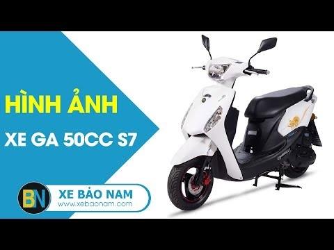 Xe ga 50cc S7 ► Video 360 độ chi tiết và Màu Xe