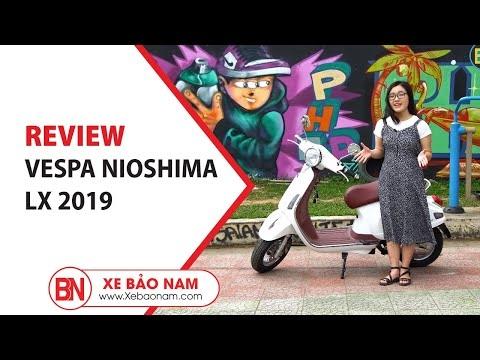 Vespa Nioshima LX 2019 ► Xe điện thiết kế nhỏ gọn đẹp nhất 2019 giá hơn 10 triệu
