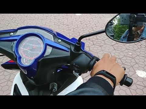Exciter 50 Xanh Trắng GP kiểu dáng Exciter 135cc