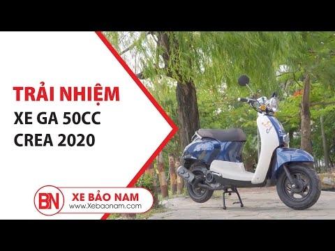 Đánh Giá Xe Ga 50cc Crea 2020► Thiết Kế Thời Trang - Thời Thượng