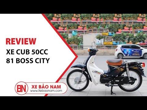 Xe Cub 81 Boss City Cỗ Máy Mạnh Mẽ, Ngoại Hình Cổ Điển   Xe Bảo Nam