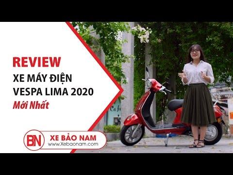[Review] Xe máy điện Vespa Lima 2 phanh đĩa đẹp nhất 2019►Xe Bảo Nam