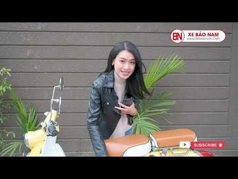 Cùng MC Diệu Nhi Giải Đáp Các Câu Hỏi Về Xe Cub 50cc Vintage Lifan | Xe Bảo Nam