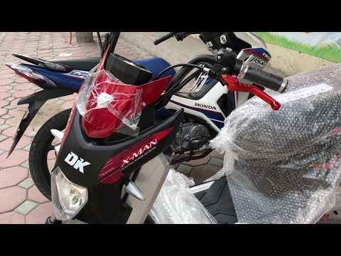Xe máy điện Xman Yadea 2017 Màu Đỏ Đen ► Xe máy điện Xman Yadea 2017