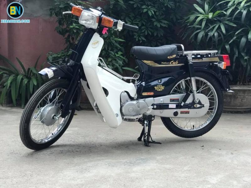 Xe máy Cub 82 màu cửu long